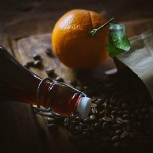 Kaffeelikör mit Orange