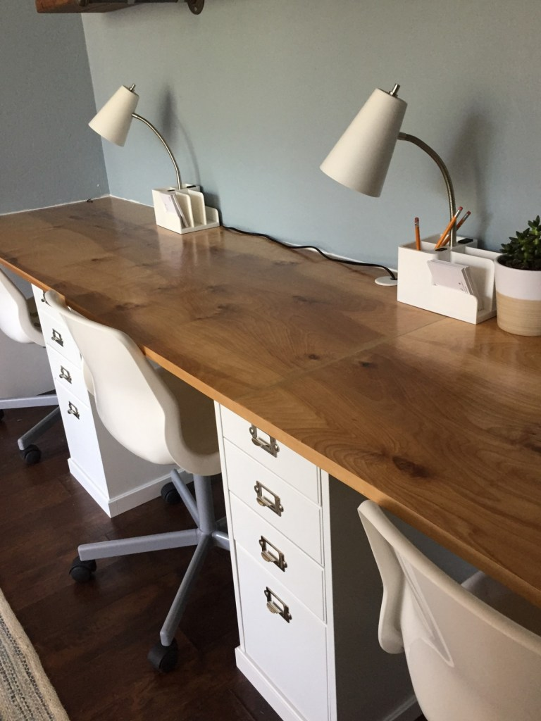 Well-liked Home Office Reveal Part 1: Built In Desk | Glutton for Chaos KK71