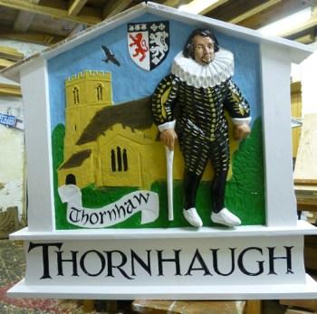 Thornhaugh Village Sign