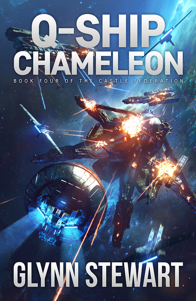 Q-Ship Chameleon by Glenn Stewart