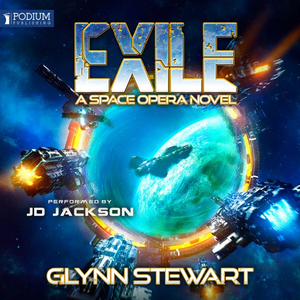 Exile audiobook by Glynn Stewart, narrated by JD Jackson