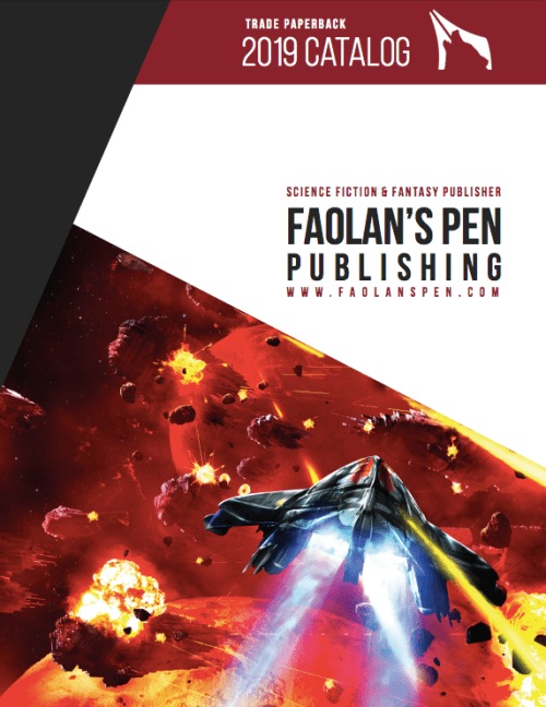 Faolan's Pen Publishing 2019 Catalog cover