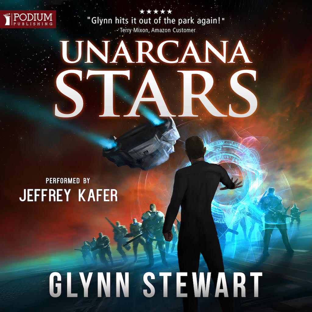 UnArcana Stars Audiobook by Glynn Stewart. Narrated by Jeffrey Kafer.
