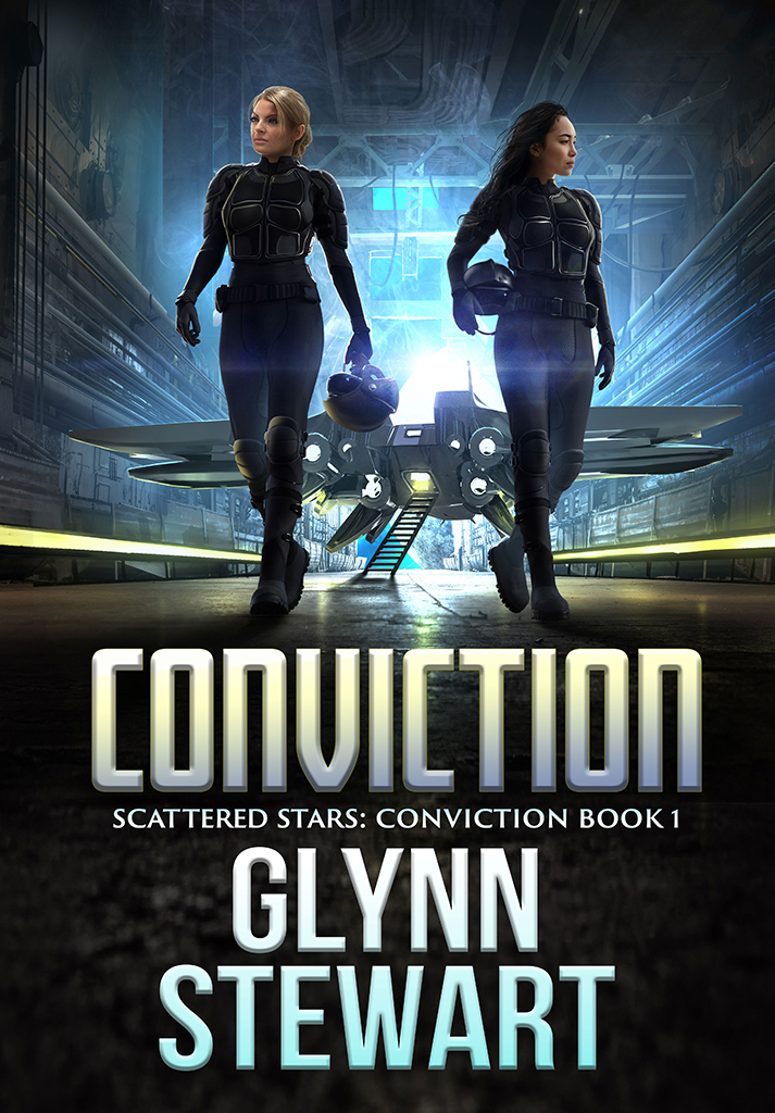 Scattered Stars: Conviction series begins with Conviction by Glynn Stewart, set for release January 28, 2020