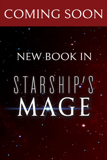 Coming soon: New book in the Starship's Mage universe