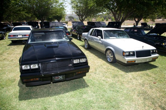 Jerry and Roberto Diaz, two turbo Buick brothers, brought both of their flawless rides for all to see.