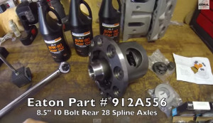 Eaton-posi-limited-slip-differential-install