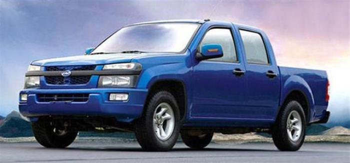 JAC Pickup (Chevrolet Colorado) - China knockoff Copy Cars
