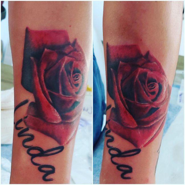 tetovanie-ruža
