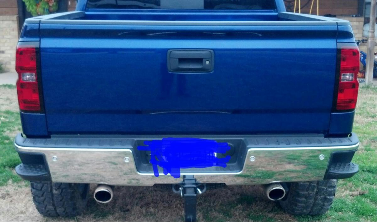 what did you do for a exhaust tips