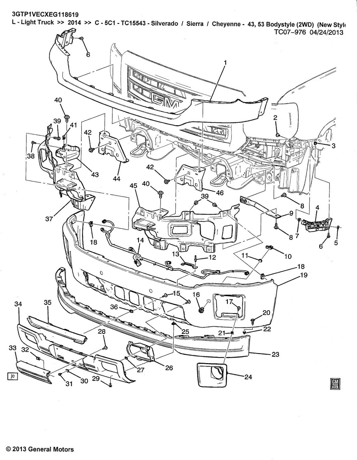 Gmc Parts Diagrams