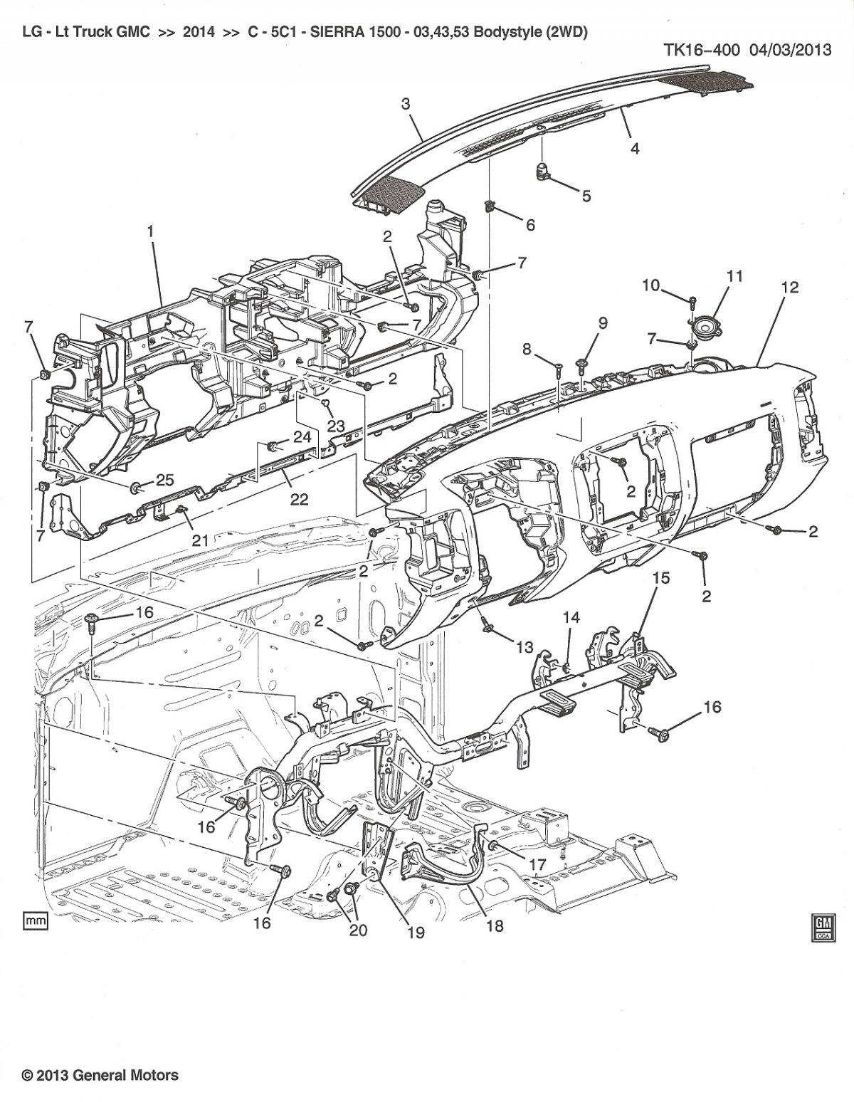 Chevrolet Silverado Diagrams