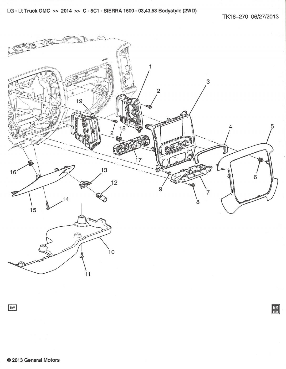 Parts Diagrams Service Manual