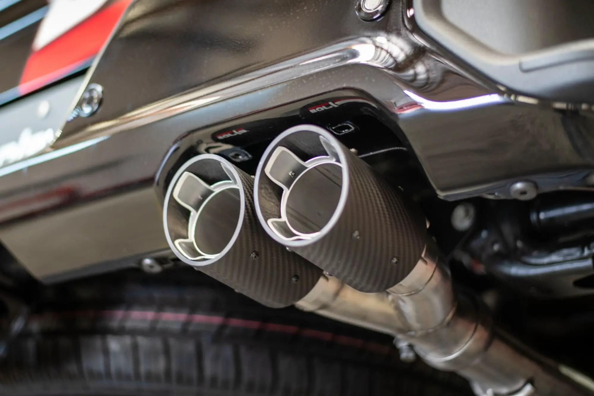 borla exhaust for the 2019 silverado