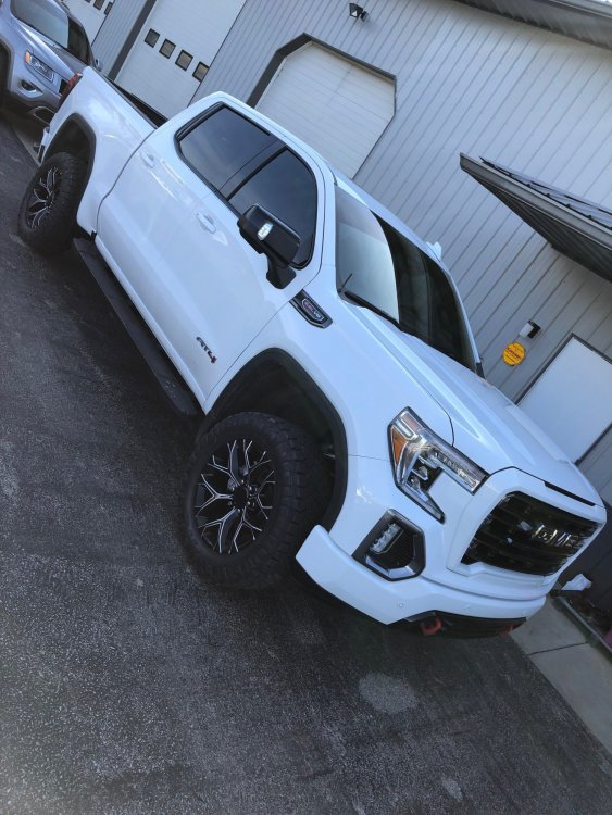 2019 Sierra At4 Level Wheel Tires Mod Page 6 2019 2020