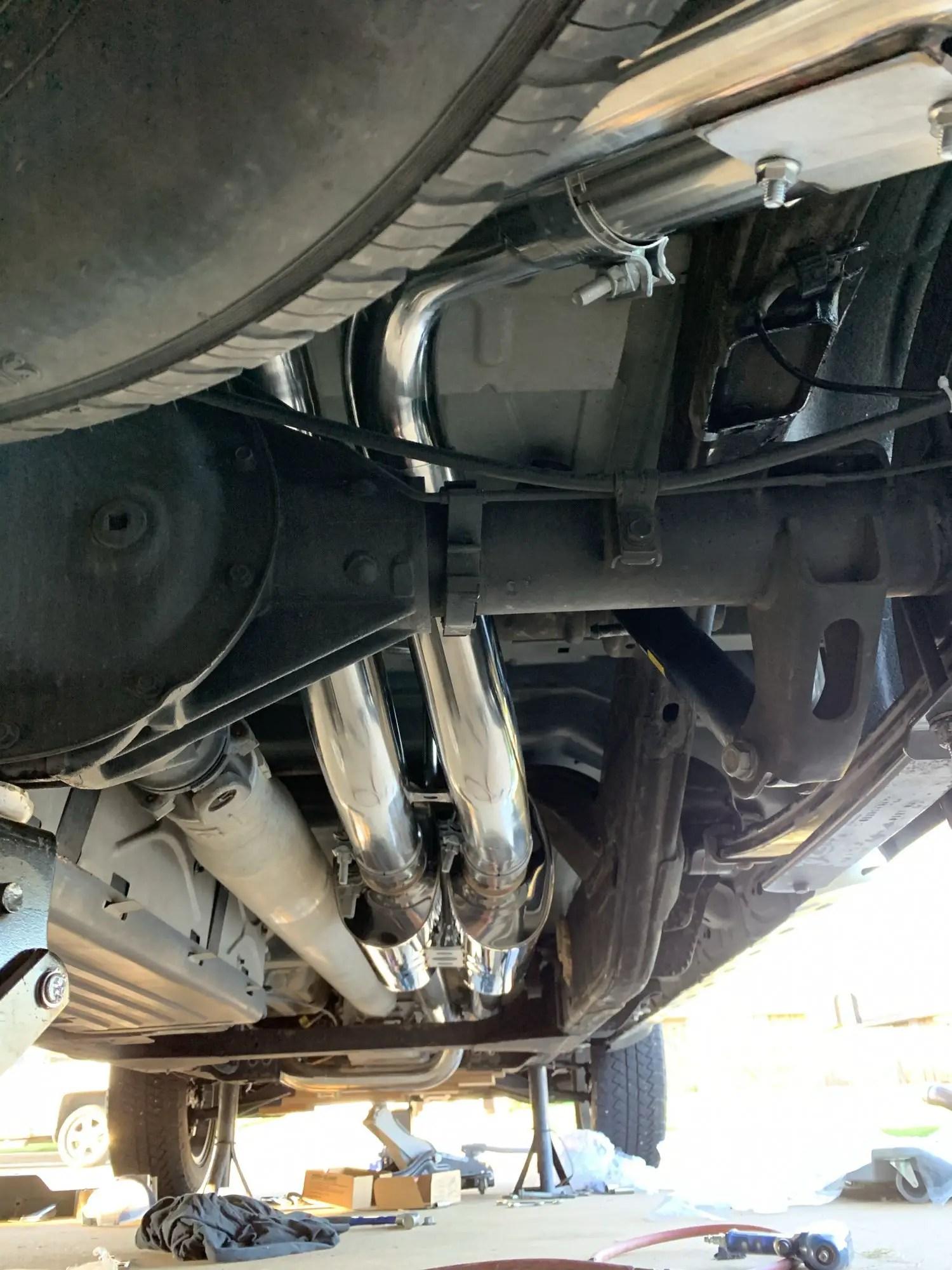 speed engineering true dual exhaust
