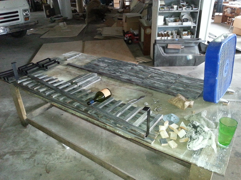 wood rack 9