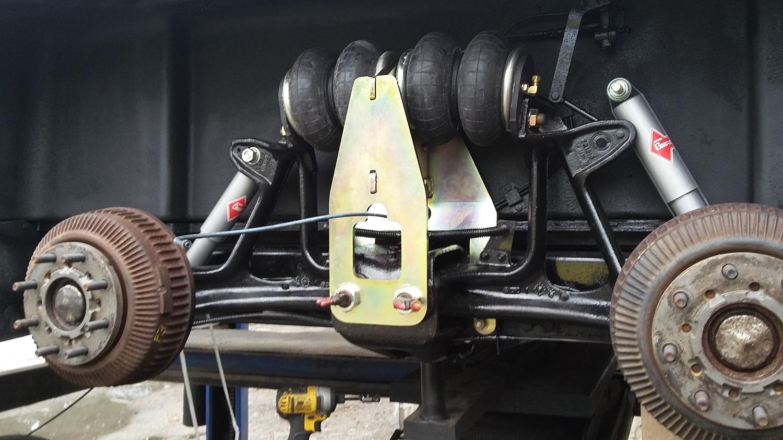 quad bag and POR-15 1