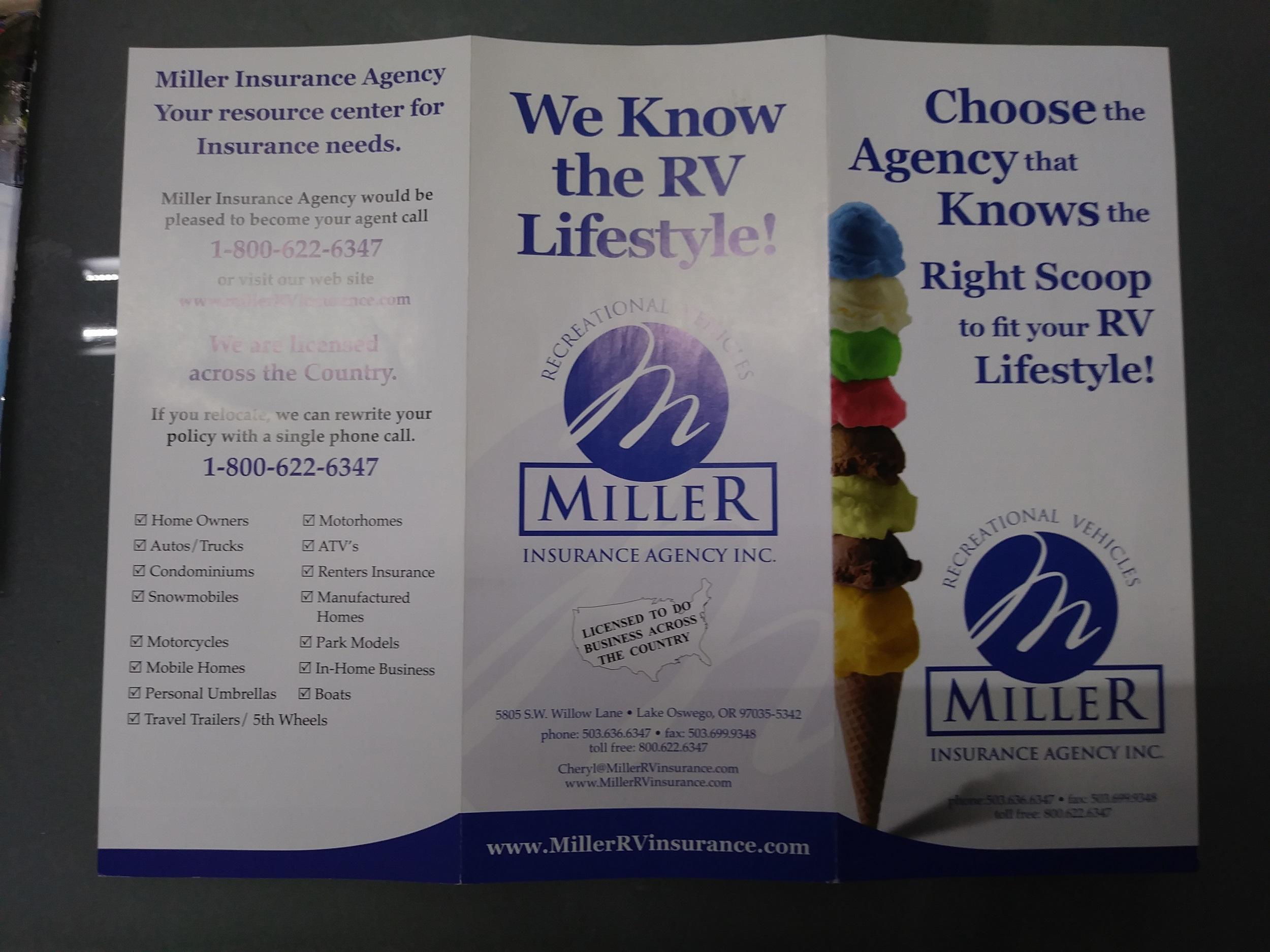Miller brochure 1