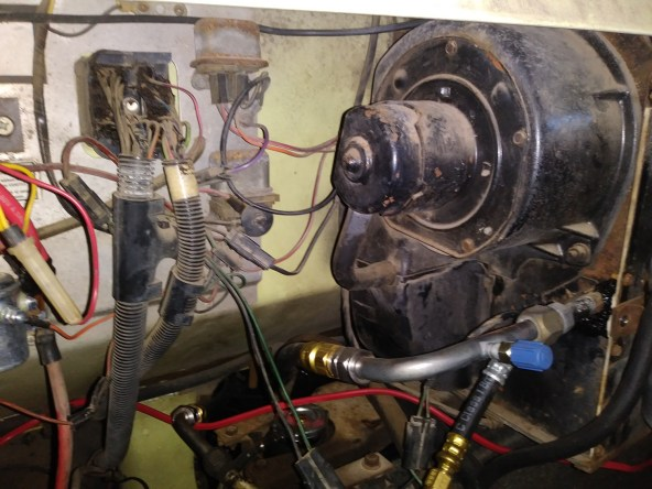 AC blower motor replace 21
