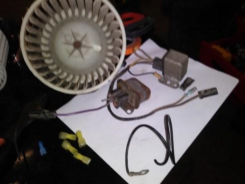 AC blower motor replace 8