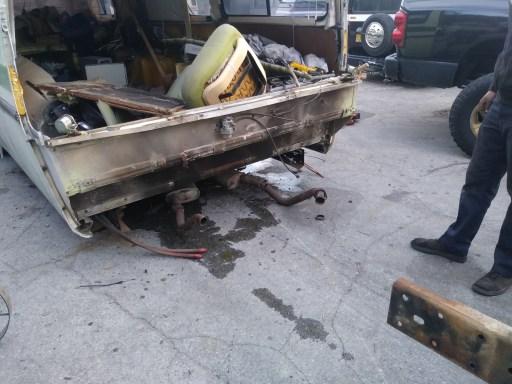 Red Neck motor pull 5