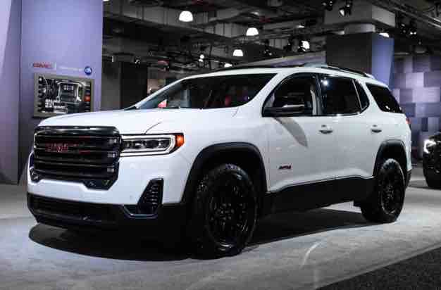 2020 Gmc Acadia Denali Changes Gmc Suv Models