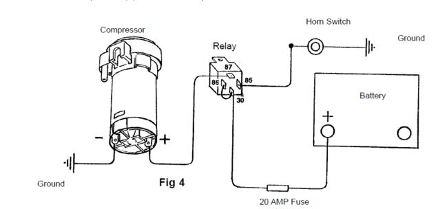 fiamm air horn wiring diagram  schematic wiring diagram