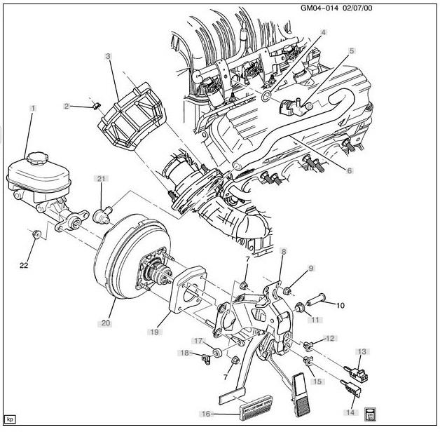 Grand Pontiac 2001 Gtp Diagram Prix Vacuum