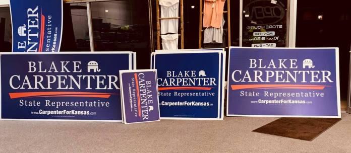 Blake Carpenter Yard Signs