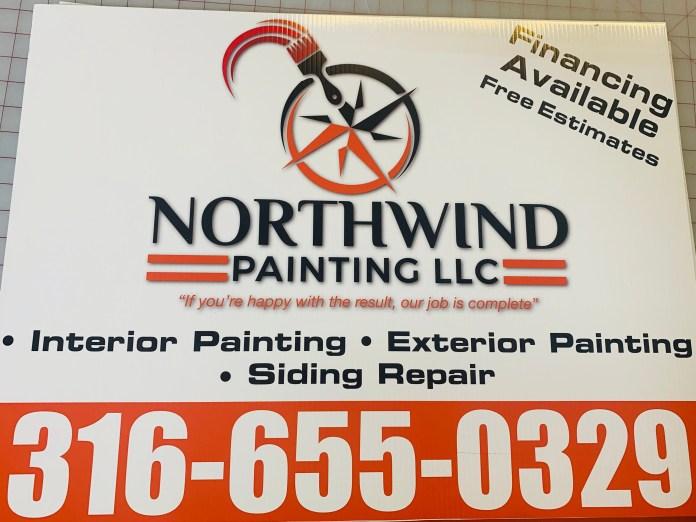 Northwind Yard Sign