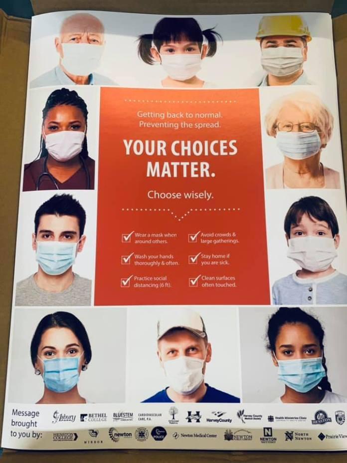 Newton Medical Center Poster
