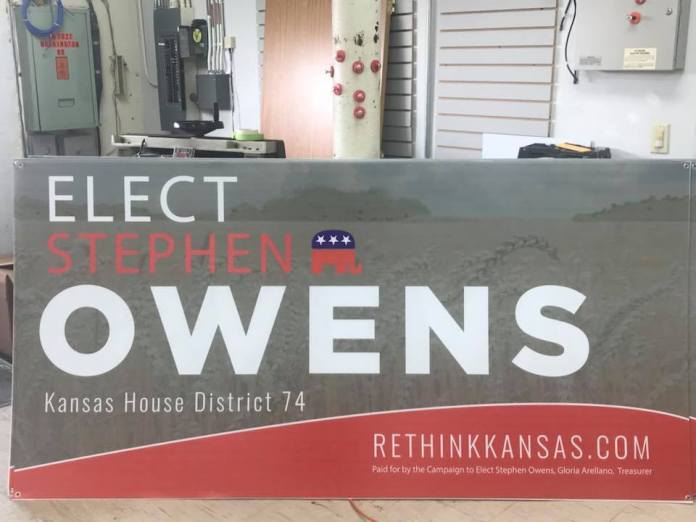 Stephen Owens Yard Signs