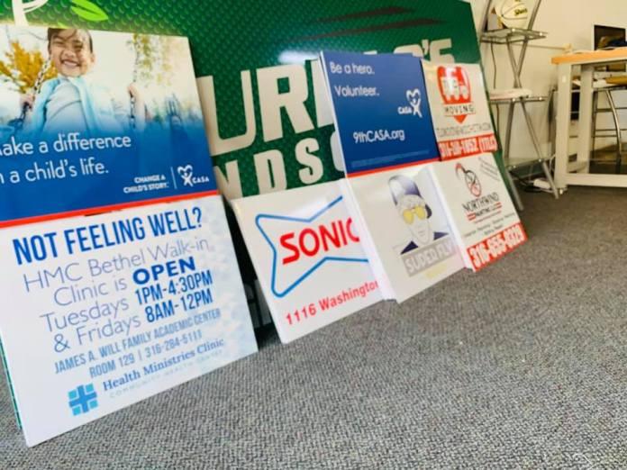 Variety Yard Signs