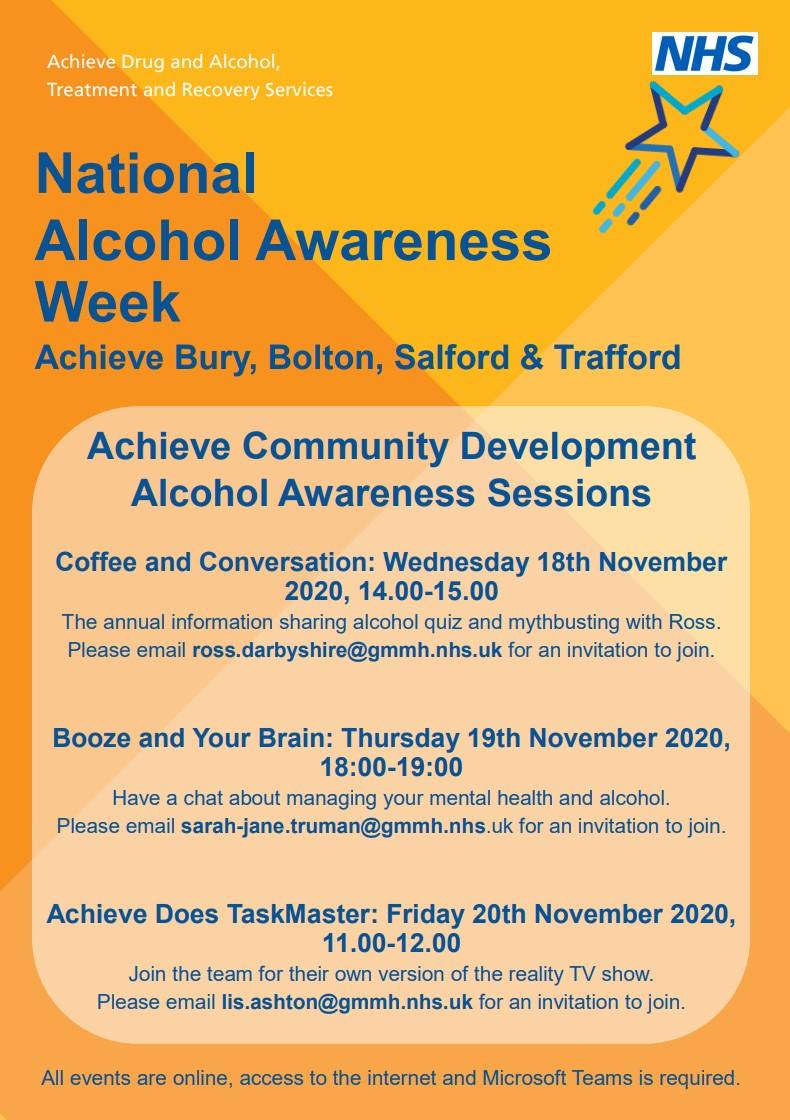 alcohol awareness week 2020 news and