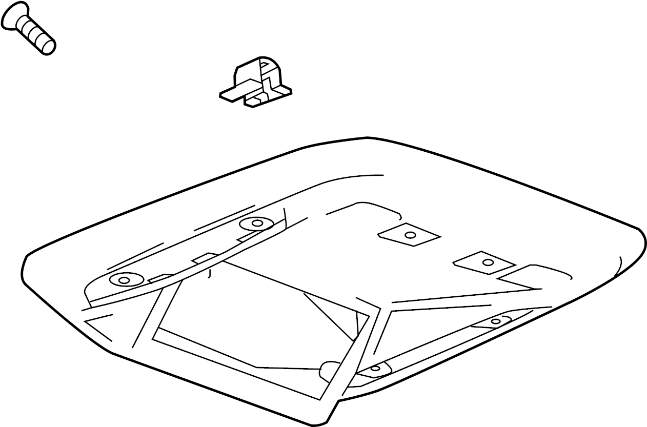 Gmc Yukon Xl Console Console Assy