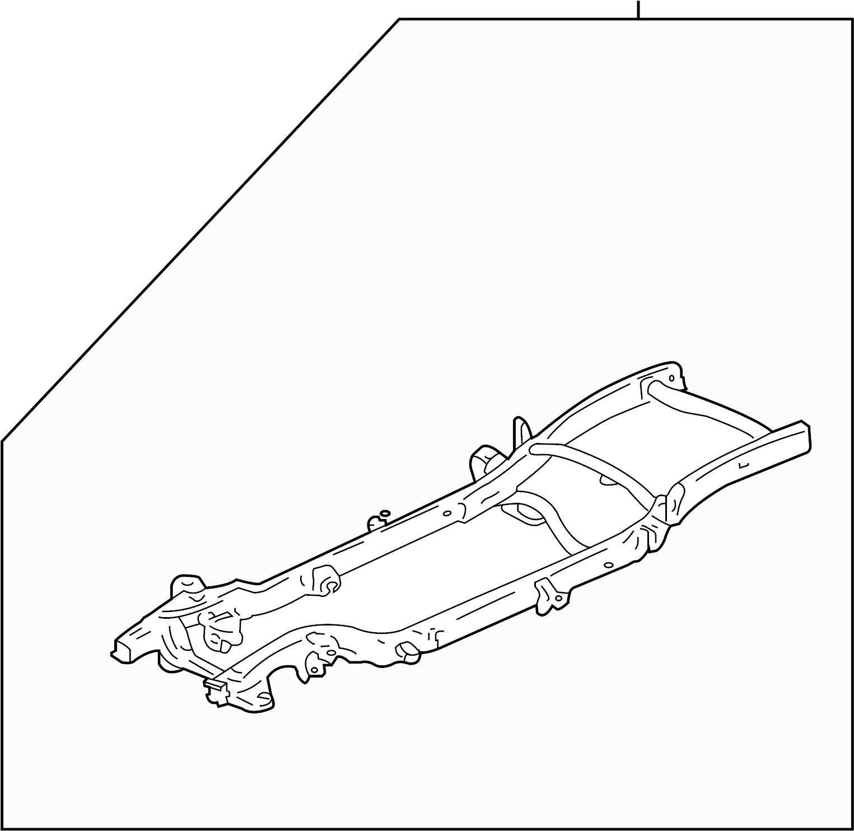 Gmc Sierra Frame Assy Frame Rail Front 1 2 Ton 2wd