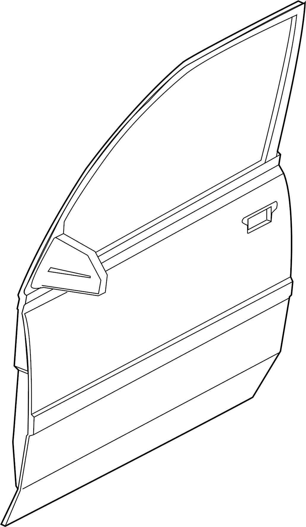 Chevrolet Tracker Mldg F Dc Molding Side Molding 4