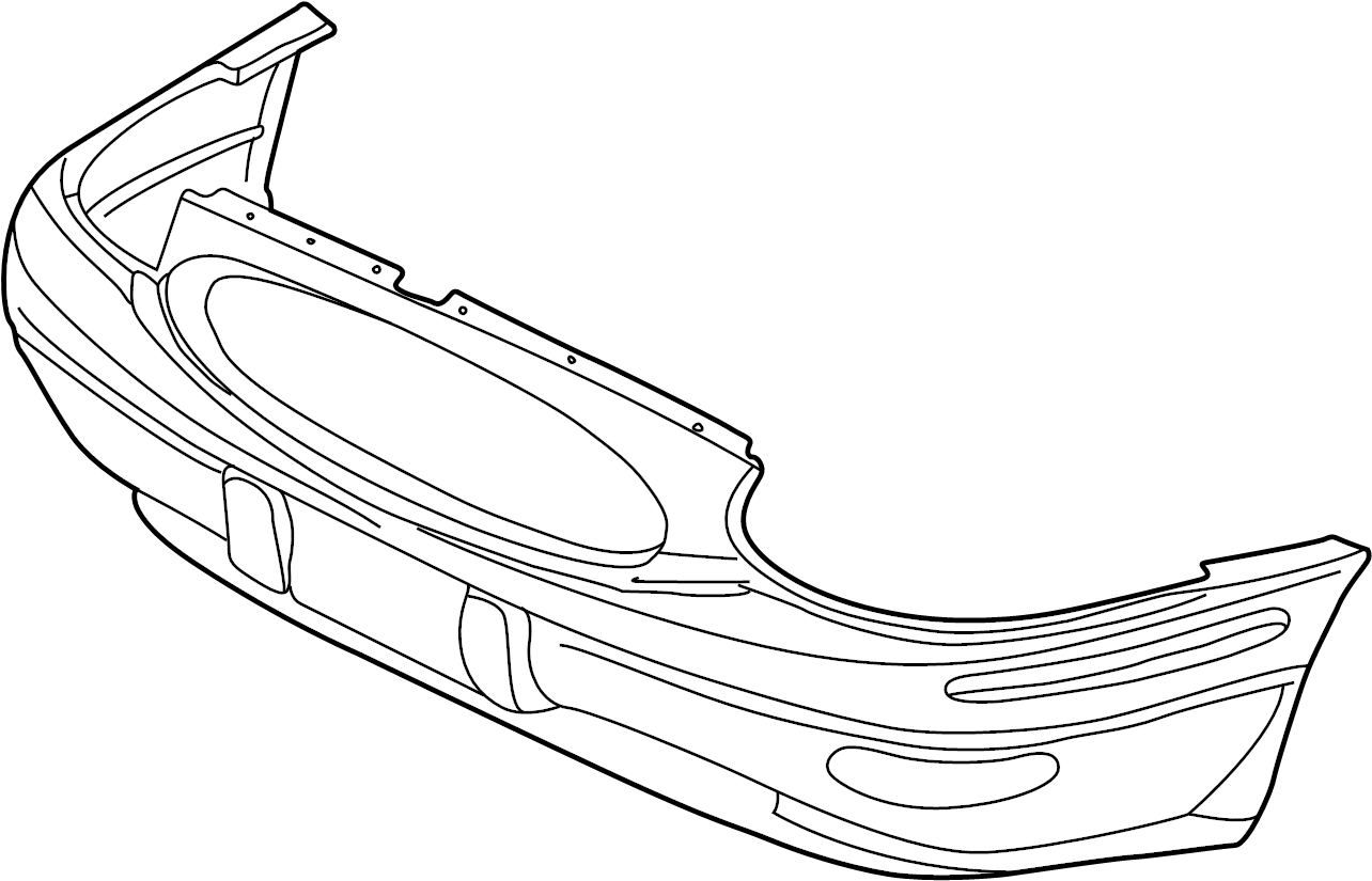 Buick Lesabre Bumper Cover Upper Lower Limited