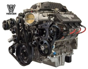 Wegner Motorsports LSA Pro Touring Accessory Drive Kit: GM Performance Motor