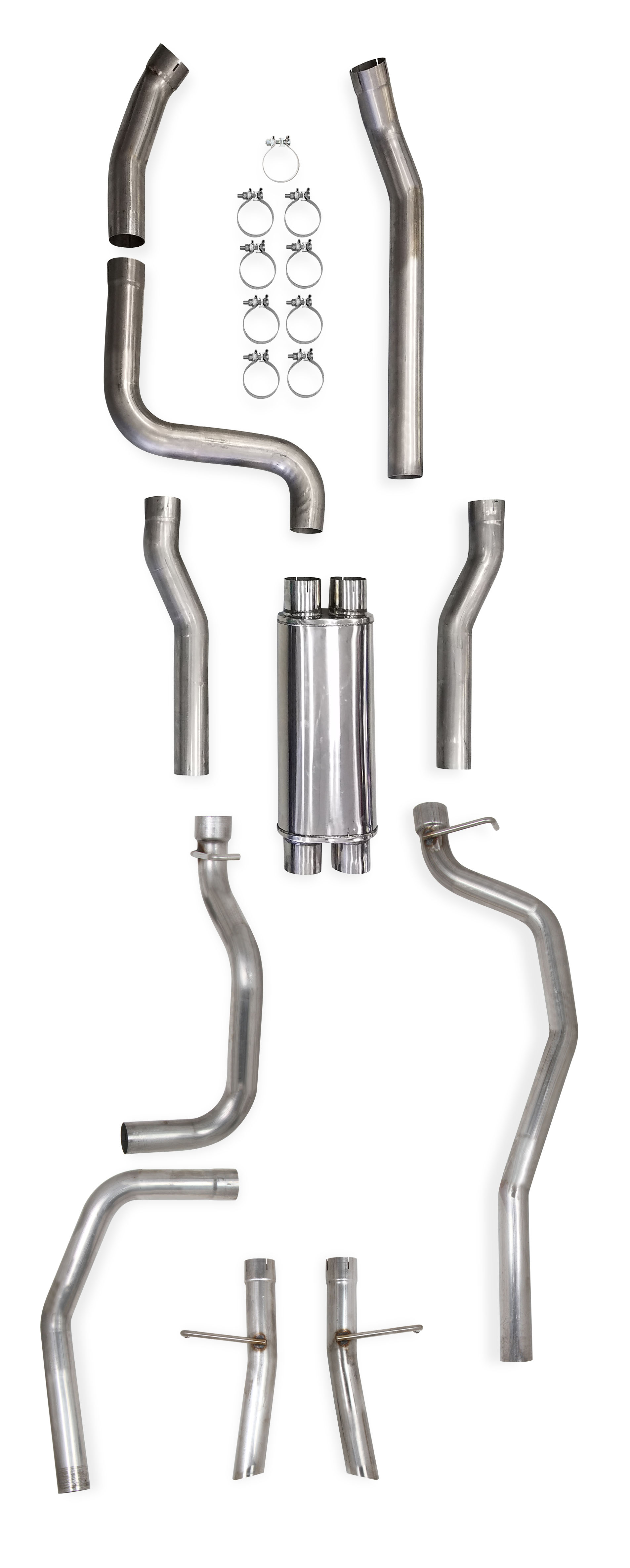 04 Gm S 10 Sonoma 2wd Ls Swap Exhaust System Dual 3