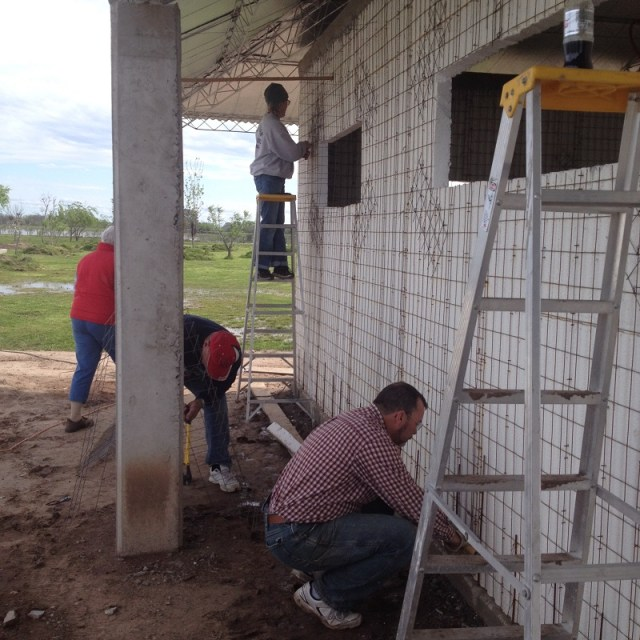 Preparing walls for stucco