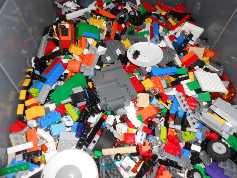 Lego 1-99 Pounds LBS Parts /& Pieces HUGE BULK LOT bricks blocks