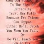 Spiritually Trusting God,