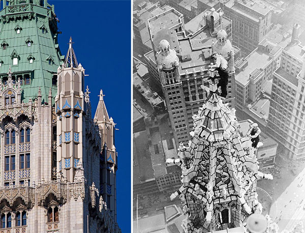 The Woolworth Building's Spires
