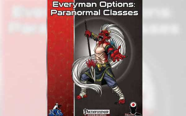 Everyman Options: Paranormal Classes – RPG Review