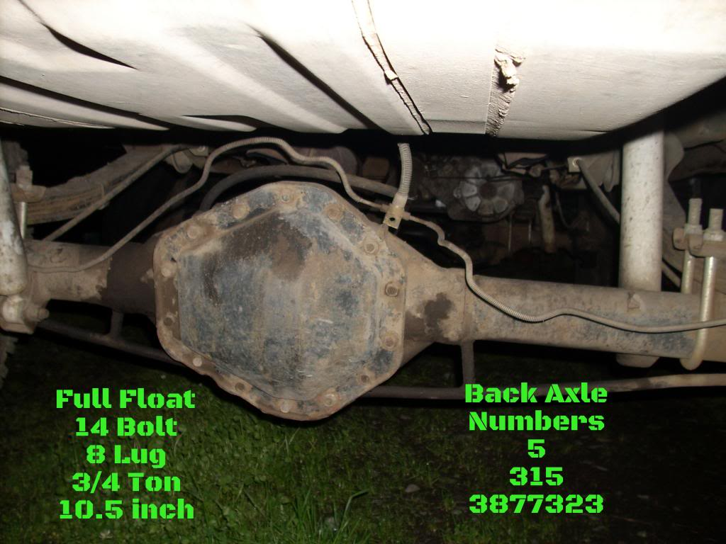 Ton 1 Ford Full Float Axle