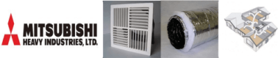 Mitsubishi ducted air conditioning Perth