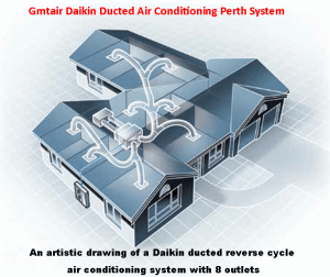 Daikin Ducted Air Conditioning Perth
