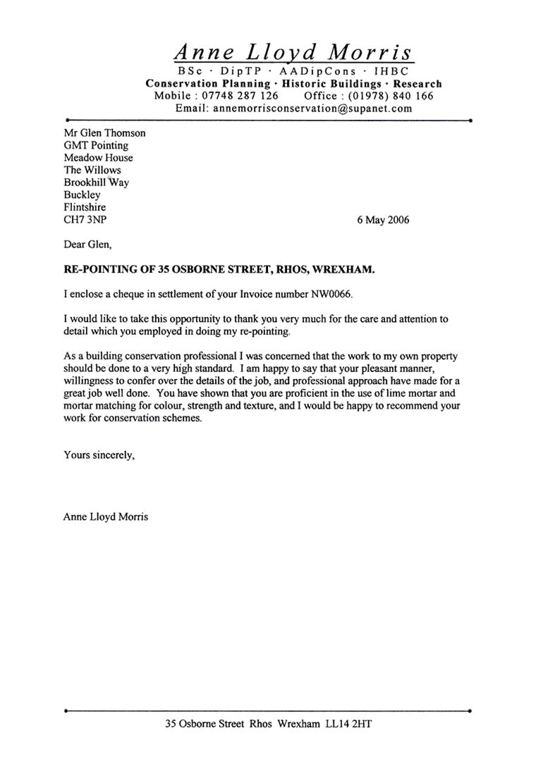 job reference letter template uk – Employment Reference Letter Sample